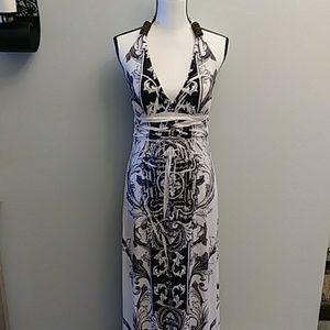 Cristinalove Maxi Halter Dress. Size: L